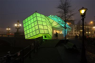 Eye_Beacon, Amsterdam by MDT-tex und UNStudio (Foto: Janus van den Eijnden)