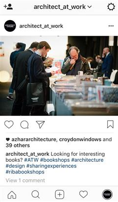 Follow ARCHITECT@WORK on Instagram!